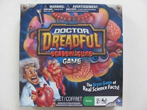 Doctor Dreadful Scabs N' Guts Board Game Spin Master 2011 - Complete