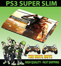 PLAYSTATION PS3 Super Fin Champ de Bataille Hardline 01 Fusil Chasse Skin & 2