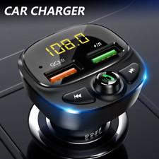 Bluetooth Car FM Transmitter MP3 Player Radio Wireless Adapter 2 USB Charger Kit