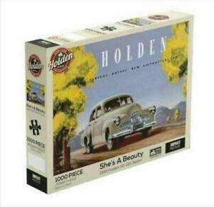 1000 Piece Impact Jigsaw Puzzles Holden -She's a Beauty 1948 Holden 48-215 Sedan