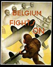 1976  --  PROPAGANDE ANGLAISE BELGIQUE   BELGIUM FIGHTS ON   7A095