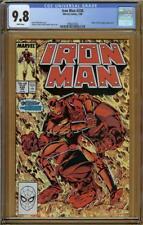 Iron Man #238 CGC 9.8 Rhino Steve Rogers   #1996207007