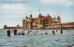 The Bathers Great Salt Lake Utah UT Vintage Postcard D24
