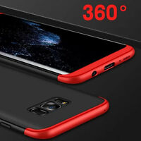 NEW 360 Full Cover Shockproof Slim Hybrid Hard PC Case Cover For Various Phones