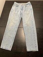 Vintage Calvin Klein Sport Jeans High Waist Usa Made 80's 90's Size 14