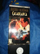 Fast 2 Day Shipping 🇺🇸Casablanca Vhs Video Tape Movie