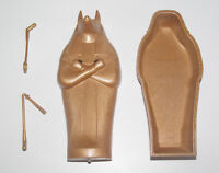 Playmobil Accessoire Sarcophage Personnage Egyptien or Gold Complet 12x5 cm NEW