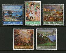 Guernsey 1983  Scott # 264-268  Mint Never Hinged Set