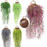 Künstliche gefälschte hängende Blumen-Rebstock-Hochzeits-Innendekor im Freien