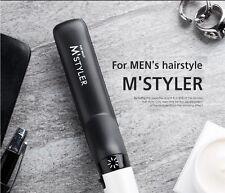 M'STYLER Professional Men's Curler Straightener Hot Hair Ceramic Iron Styling