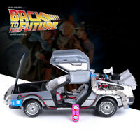 Hot Wheels ELITE DMC 1:18 Scale Back to the Future Diecast Model Car Collection
