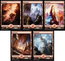 MTG Magic - La Bataille de Zendikar - Les 5 Montagnes Full Art -  VF