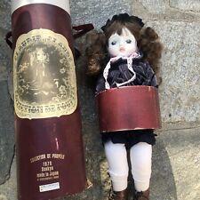 1976 Claudie et Claude Doll Collection De Poupees Sankyo Japan Musical Doll