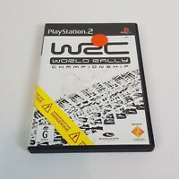 WRC World Rally Championship PS2 Playstation 2 Video Game PAL - Complete