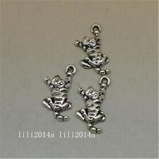 20pc Retro Tibetan Silver Charms Cat Animal Pendant Beads DIY Accessorie  PL1117