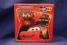 *** World of Cars ***/Mini Puzzle/OVP/100 pezzi
