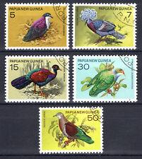Papua New Guinea - 1977 Birds - Mi. 324-28 VFU