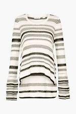 Brand New Sass & Bide Ride W You Ruffle Sleeve Knitwear (size XS) Tags Still On