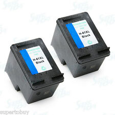 2pk HP 61XL BLACK Remanufactured Cartridge ENVY 4500 4501 4502 4503 4504 4505