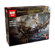 Pirate of The Caribbean The Slient Mary Building Block Full Set - 2344pcs