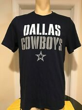 Dallas Cowboys Men's T-shirt Medium Blue