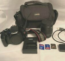Canon EOS Rebel T3 Digital SLR Camera with EF-S 18-55mm f/3.5-5.6 IS Lens w CASE
