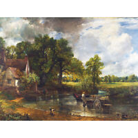 Constable The Hay Wain Landscape Painting Huge Wall Art Poster Print