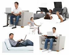 New Adjustable Vented Laptop Table Laptop Computer Desk Portable Bed Tray Stand