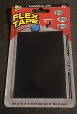 As Seen On TV Flex Seal Tape Mini Strong Rubberized Waterproof Tape, Black