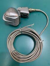 TURNER MODEL S33D DYNAMIC MICROPHONE 1940'S VINTAGE ART DECO MIC IN GREAT CONDIT
