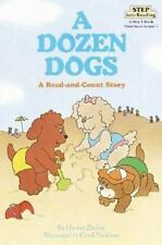 Dozen Dogs: A Read-And-Count Story (Step Into Reading: A Step 1 Book)-ExLibrary