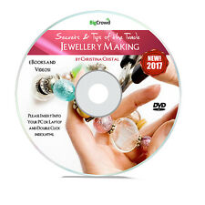 Beading jewellery making instruction books media ebay how to make world class jewellery start a home business video tutorials dvd fandeluxe Images
