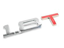 ☆  LOGO 1.8 T  STICKER 3D CHROME  , AUTO  EMBLÈME /EMBLEM  hayon /coffre ☆