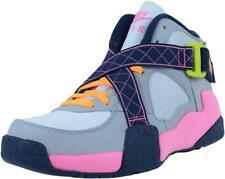 NEW Nike Air Turf Raider (GS) Basketball Shoes Pink/Gray/Navy 644882-101 Sz 4.5Y