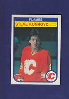 Steve Konroyd RC 1982-83 O-PEE-CHEE OPC Hockey #48 (NM) Calgary Flames
