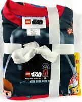 New Boys Lego Star Wars 2 Piece Sleep Set Lounge Pajama Fleece Size XS