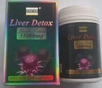 New Costar Liver Detox Liver Tonic 35000 mg 100 Capsules