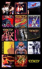 "Y&T album discography magnet (4.5"" x 3.5"")"