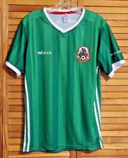 MEXICO FOOTBALL JERSEY T-SHIRT FUTBOL SELECCION NACIONAL DE MEXICO GREEN MED