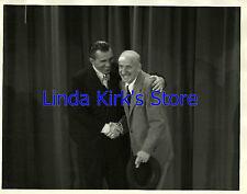 "Ed Sullivan & Jimmy Durante Photograph ""Look Magazine Award Show"""