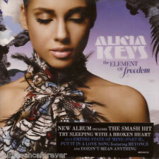 ALICIA KEYS - The Element Of Freedom (UK 14 Trk CD Album)