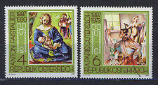 AUSTRIA 1987 MNH SC.1387/1388 Paintings