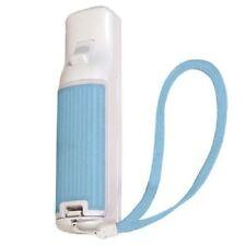 bleu Wii Télécommande caoutchouc compartiment à pile étui couvercle caoutchouté