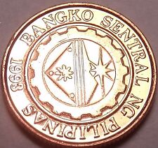 Gem Unc Philippines 1997 10 Sentimos~Central Bank Established~Free Shipping