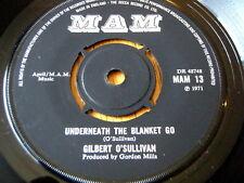 """Gilbert O 'Sullivan-debajo de la manta ir 7"""" Vinilo"""
