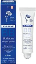 Klorane BB Eye Cream Tinted Roll On Reduces Puffiness Dark Circles Illuminates