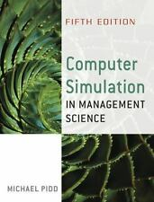 Computer Simulation in Management Science by Michael Pidd (2006, Paperback,...