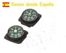 2 X minibrújulas ideal correa reloj o pulsera