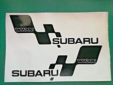 Subaru Impreza WRX STI Classic Sticker Turbo JDM Decal Side skirt 420mm Pair x 2