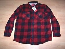 COLEMAN Mens Fleece Lined Sherpa Shirt Plaid Jacket Size XL (NWT)